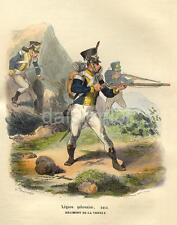 Soldado Polaco De Napoleón polaco Legión Vístula Regimiento 1843 6x5 Pulgadas impresión R