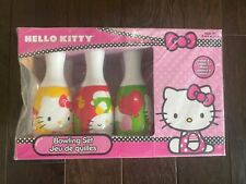 Bowling Set 6 Pins 1 Ball Sanrio Hello Kitty Age 2+ NEW