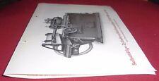 werkzeug prospekt blatt alt zylinder schleif maschine schmirgel  werbung 1920 er