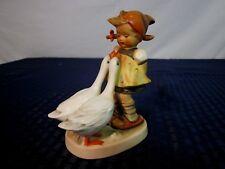 "Hummel Figurine ""Goose Girl"" 47/0 Tmk-2 Full Bee 1950-55 Western Germany Nice"