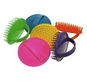 Denman D6 Be Bop Colour Shampoo Scalp Massage Hair Brush