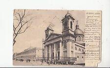 B80743 iglesia del salvador   buenos aires  argentina  front/back image