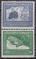 Nazi Germany 3rd Reich Zeppelin Set 1938 MNH!!