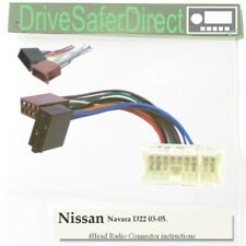 4-Head-5221-51J Radio Cable,ISO-JOIN for Xtrons/Nissan Navara D22 03-05