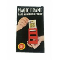 Magician's Card Vanishing Frame Magic Trick Disappearing Card for Illusion Magic