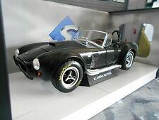 AC Shelby Cobra Ford V8 427 MKII schwarz black matt 1965 Solido Metall NEU 1:18
