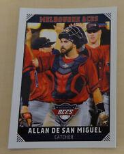 Allan De San Miguel 2018/19 Australian Baseball League Card Melbourne Aces
