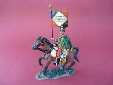 Soldat de plomb King & Country NA352 - Guidon du 7ème régiment de hussard
