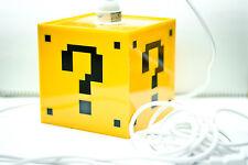 Mario Question Mark Block - Hanging lamp