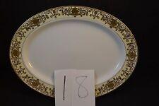 "Noritake Christmas Ball  #16034 Oval Platter 16 1/8"""