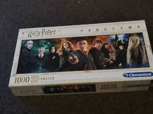 Harry Potter 1000 piece panorama jigsaw puzzle Clementoni. Perfect condition