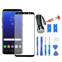OEM For Samsung Galaxy S8/S8 Plus Front Screen Glass Lens Replace+LOCA Glue+Tool