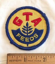 GTA Feeds Logo Round Embroidered Patch
