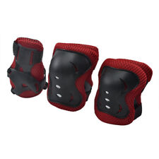 6 Piece SKATE Protection KIT Knee Pads Wrist, Elbow Pads Skateboard Scooter NEW