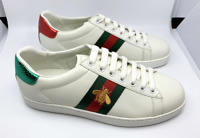 GUCCI Ace embroidered womens low-top sneaker 100% authentic UK4 EU38 US7