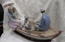 Lladro  LARGE BEAUTIFUL Figurine #5343 LOVE BOAT LIMITED EDITION #1218