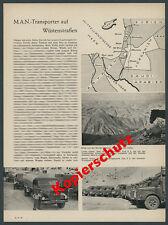 On camions type f8 Hauber citerne huile voiture Amman la Jordanie Orient désert 1957