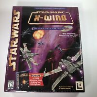 Star Wars X-Wing Collector's Edition CD-ROM with TIE Fighter New Sealed