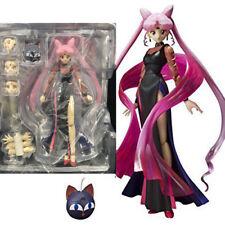Anime Pretty Guardian Sailor Moon Black Lady Action Figure Collection Decor