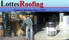 10' x 10' Black 60 Mil Epdm Rubber Roof W/Adhesive By The Lottes Companies