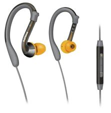 Philips ActionFit SHQ3017GY Sweatproof Sports Headphones with Volume Control Mic