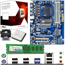 AMD X4 Core FX-4300 3.8Ghz & GIGABYTE 970A-DS3 & 4GB DDR3 1600