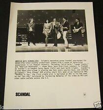 SCANDAL/PATTY SMYTH—1982 PUBLICITY PHOTO—DICK CLARK