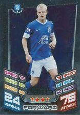 N°384 STEVEN NAISMITH # SCOTLAND EVERTON.FC TRADING CARD MATCH ATTAX TOPPS 2013