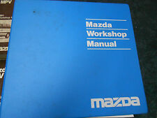 1991 Mazda MPV VAN Service Shop Repair Manual 91 FACTORY BOOKS DEALERSHIP 91