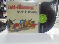Inti-Illimani LP Spanisch Nach Die Freiheit 1976 Klappcover