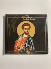 Justin Townes Earle Signed Saint Of Lost Causes CD Autographed Auto