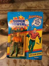 Super Powers Aquaman Unopened Action Figure By Kenner