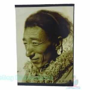 """Matted 8""""x6"""" Old Photograph a Tibetan herdsman in Qing Dynasty China before1900s"""