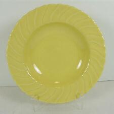 "Vintage Franciscan Ware Coronado Rim Soup Bowl Mid Century Gloss Yellow 8 1/2"""