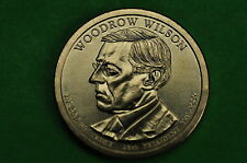 2013-D Bu Mint State (Woodrow Wilson ) Us Presidential One Dollar Coin