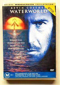Waterworld (DVD) Kevin Costner [EX RENTAL] (Australian Region 4 PAL)
