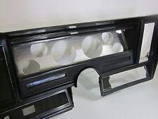 1973 chevrolet nova dash bezel aluminum gauge pod custom