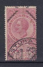 1920 MARCHE DA BOLLO ATTI AMMINISTRATIVI 2 LIRE CON LOSANGHE USATA 1