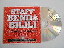 STAFF BENDA BILILI : OSALI MABE [ CD SINGLE ] ~ PORT GRATUIT
