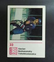 1971-72 Finnish Williams #33 Vaclav Nedomansky
