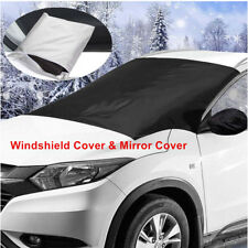Car Windshield&Mirror Snow Sun Cover Ice Frost Removal Protector Rain Frost Snow