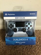 Sony DUALSHOCK 4 Wireless Controller for PlayStation 4 - Titanium Blue NEW