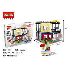 Large Clothes Shop Fashion Store Building Bricks Toys Construction Blocks Kits