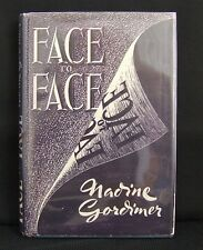 Nadine Gordimer Face to Face Short Stories First Edition Signed 1949