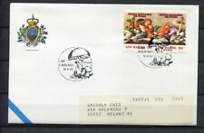 S16218) San Marino 1992 Cover 3 ^ Show Mycological Del Titan Mushrooms