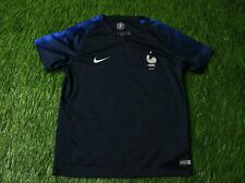 FRANCE NATIONAL TEAM 2018-2019 FOOTBALL SHIRT JERSEY HOME NIKE ORIGINAL KIDS XL
