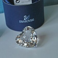 SWAROVSKI SCS originali cuore trasparente coeur authentique 896979 NEW retired