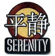 SERENITY - FIREFLY Logo Patch - Uniform Aufnäher auch zum aufbügeln neu
