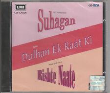 suhagan / dulhan ek raat ki/ rishte naate    [ Cd]  EMI UK Made /