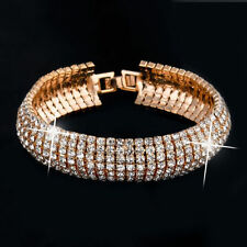 Crystal Rose Gold Plated Fashion Bracelets
